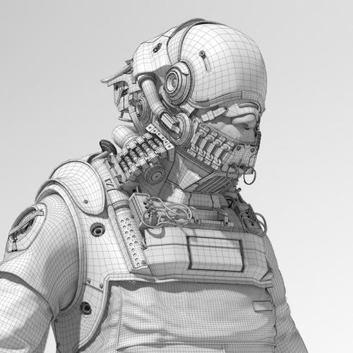 Cyborg Wire vfx