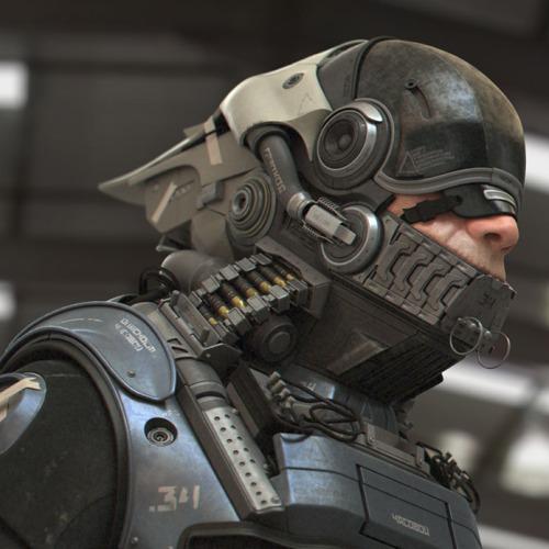 Cyborg by Tim Blake vfx