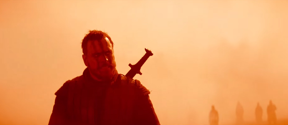 MacBeth red colour tone vfx