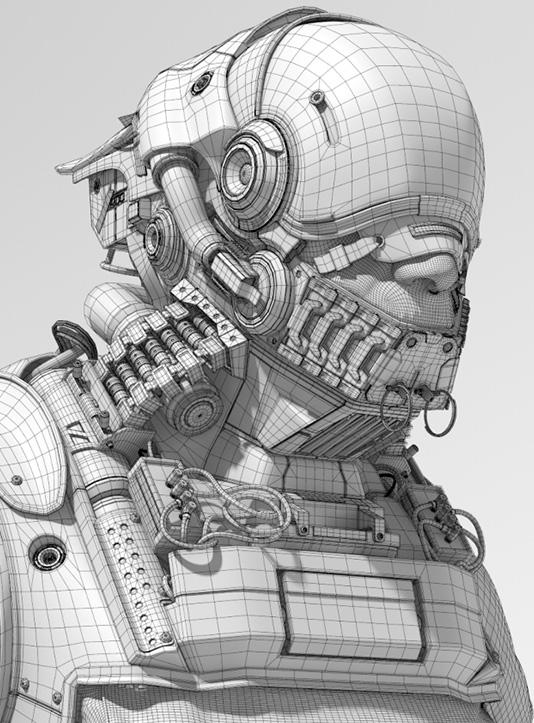 Tim Blake hard surface modeling