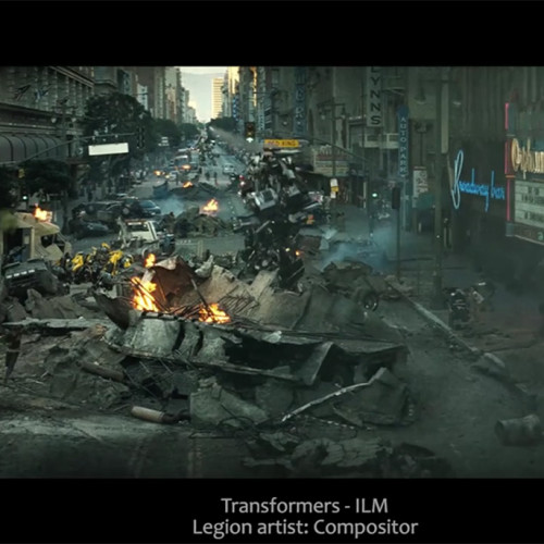 legion vfx compositor ILM Transformers