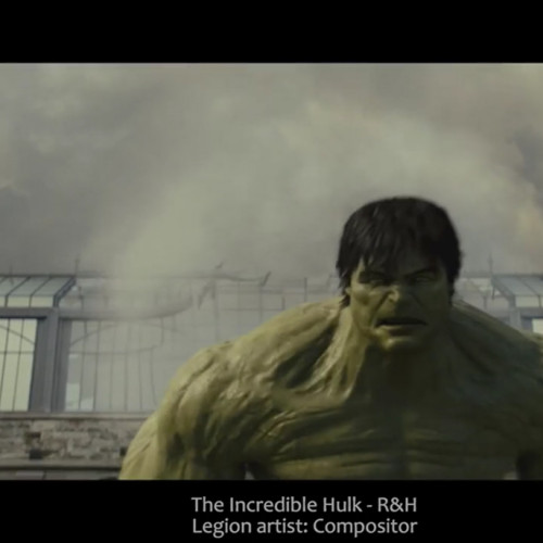legion vfx compositor R&H Hulk