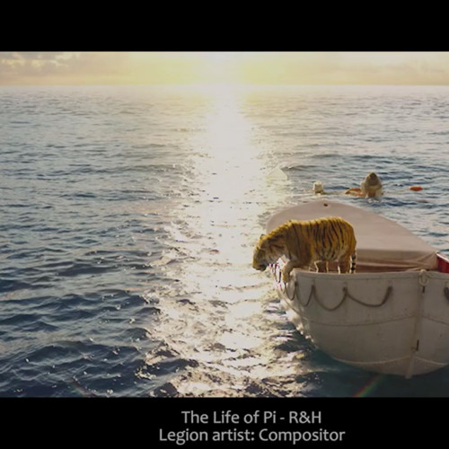 legion vfx compositor R&H the Life of Pi