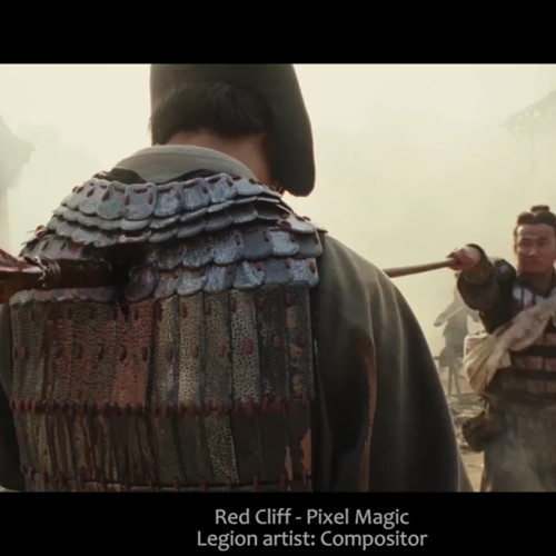 legion vfx compositor Red Cliff