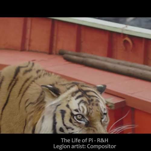 legion vfx compositor the Life of Pi