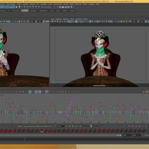 Animation Kismet